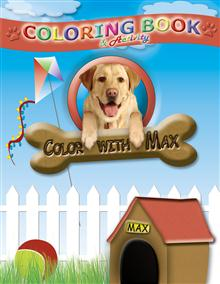 Color With Max Activity And Coloring Book